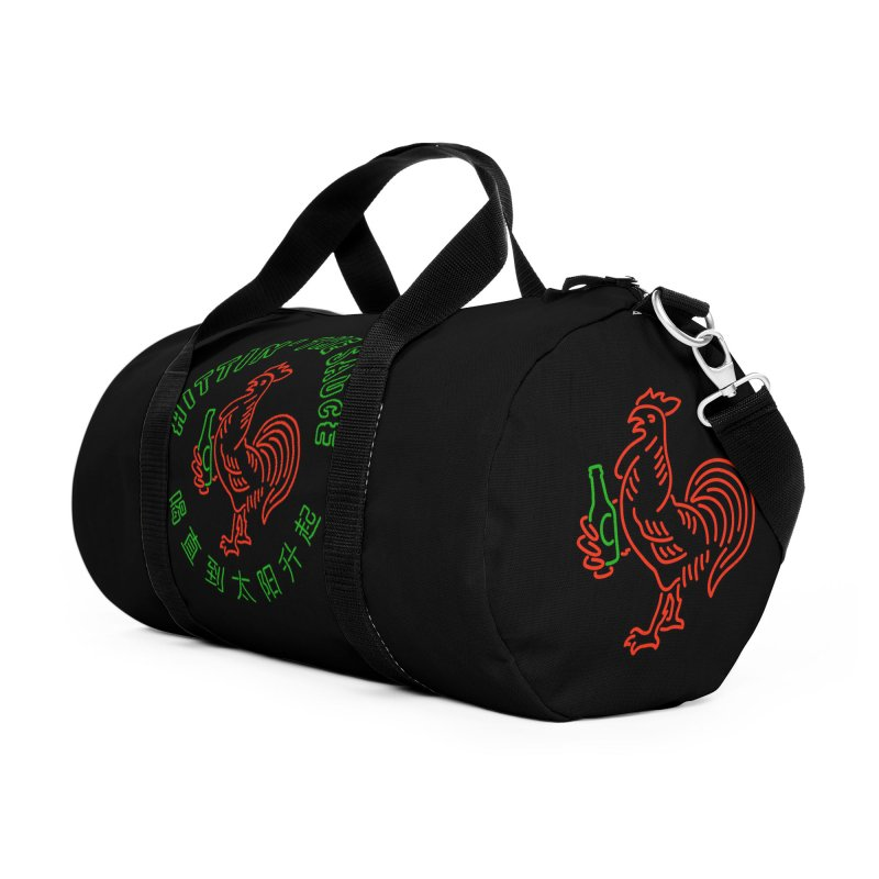 Sauced Accessories Duffel Bag Bag by Cody Weiler