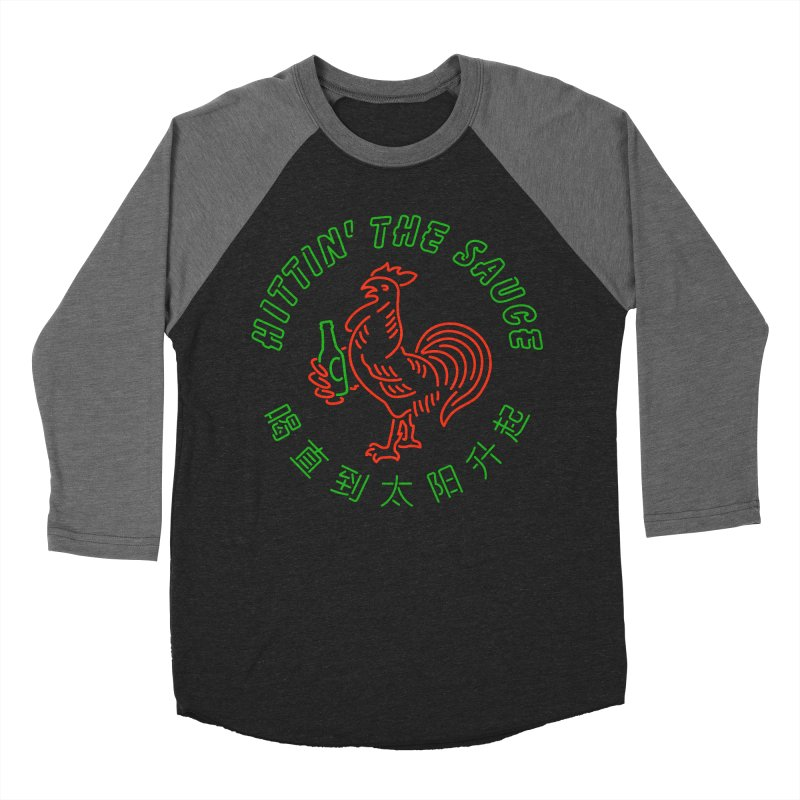 Sauced Men's Baseball Triblend T-Shirt by csw