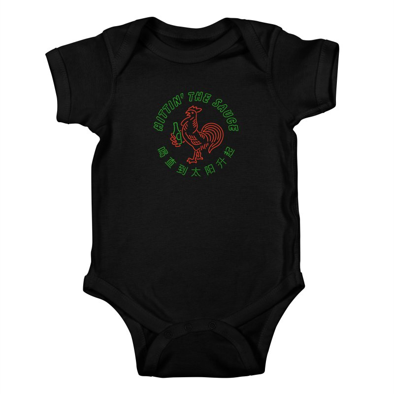 Sauced Kids Baby Bodysuit by csw