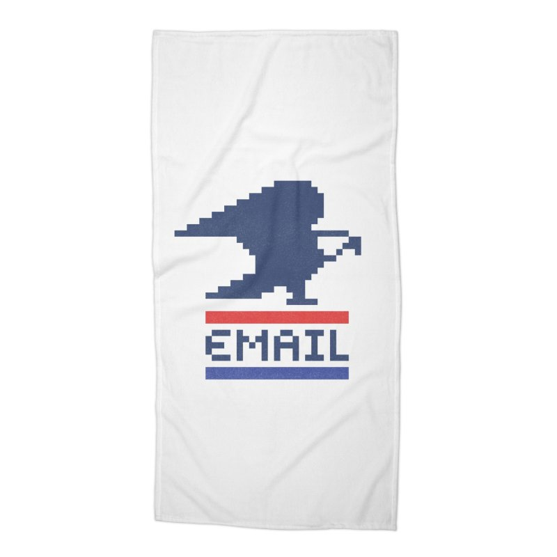 Email Accessories Beach Towel by csw