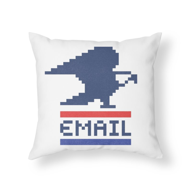 Email Home Throw Pillow by csw