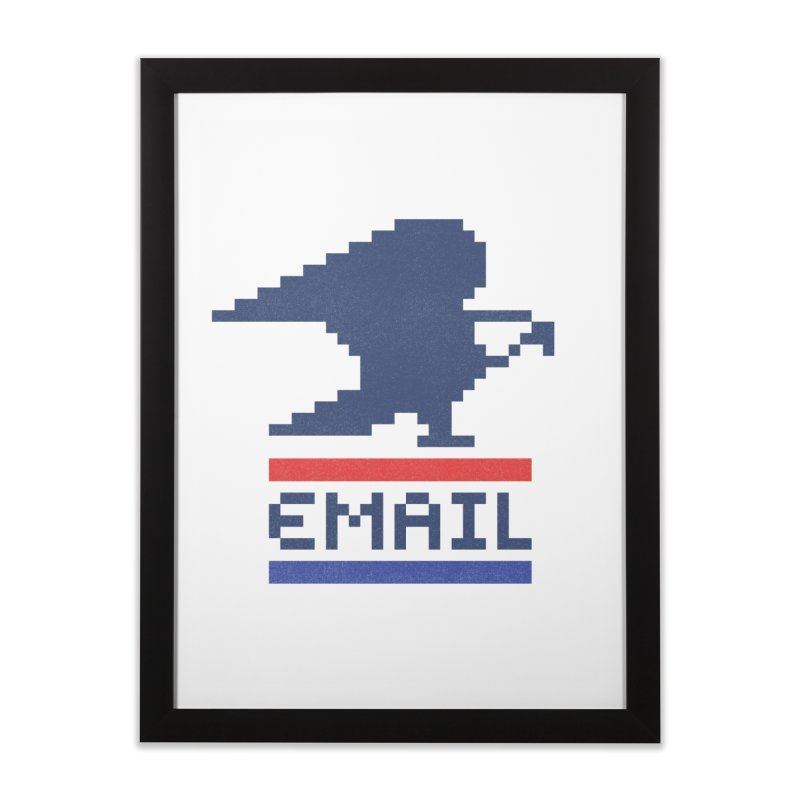 Email Home Framed Fine Art Print by csw