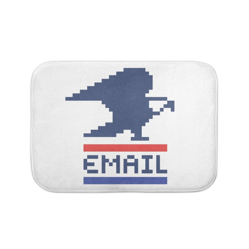 Email Home Bath Mat by csw