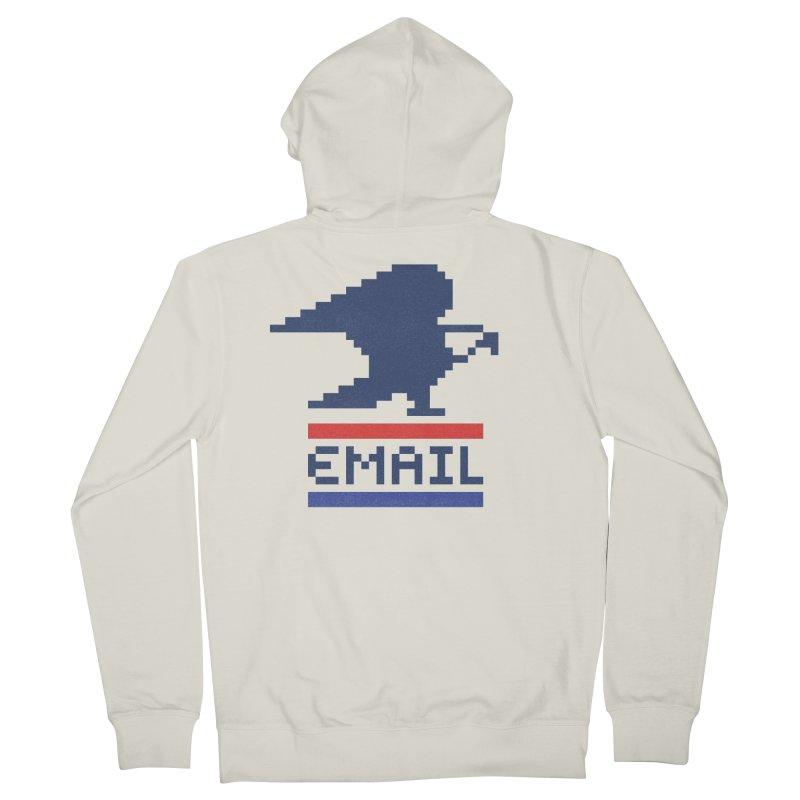 Email Men's Zip-Up Hoody by csw