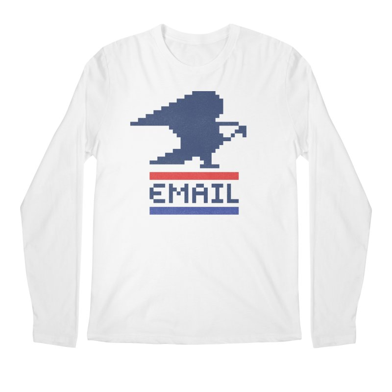 Email Men's Longsleeve T-Shirt by csw