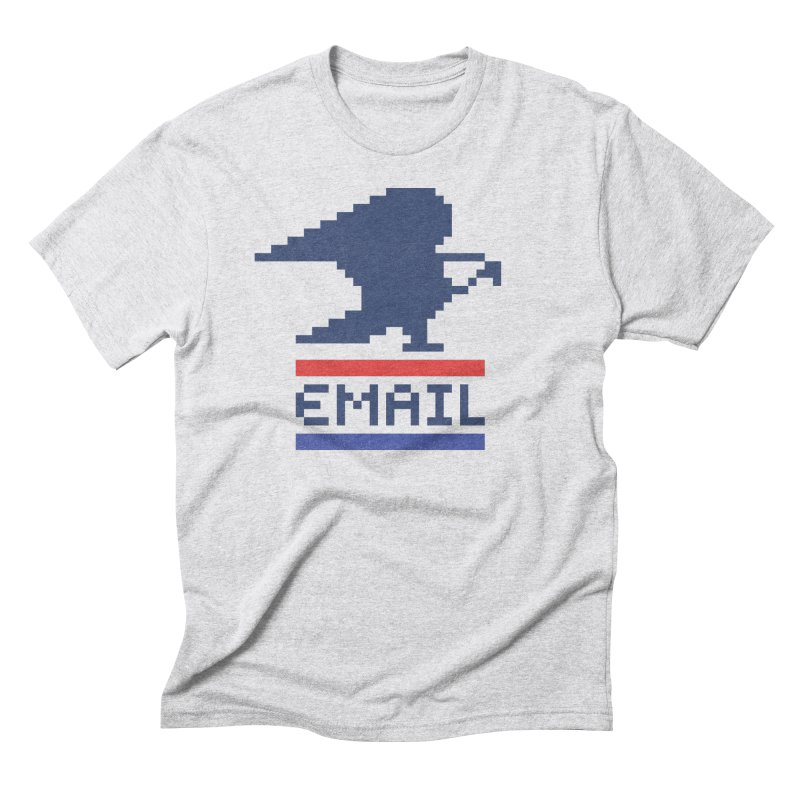 Email Men's Triblend T-Shirt by csw
