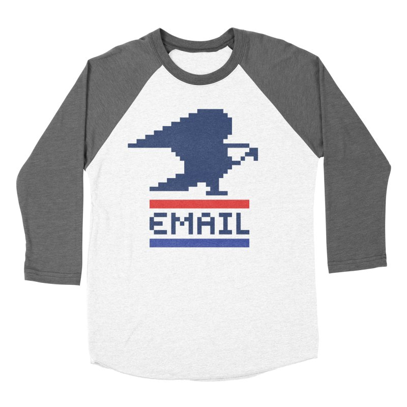 Email Men's Baseball Triblend T-Shirt by csw