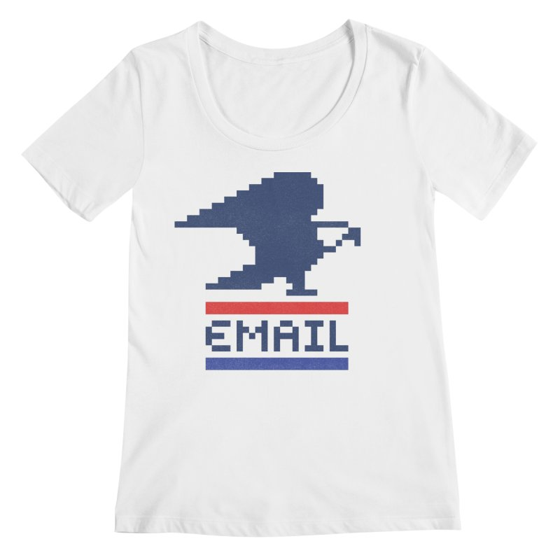 Email Women's Scoopneck by csw
