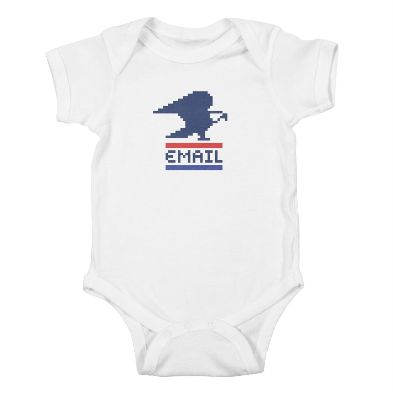 Email Kids Baby Bodysuit by csw
