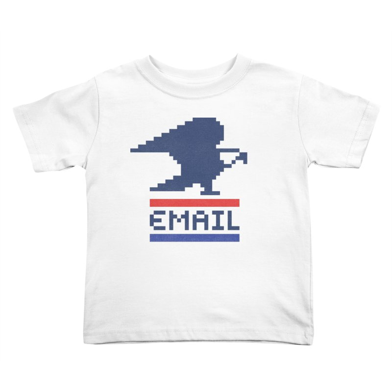 Email Kids Toddler T-Shirt by csw