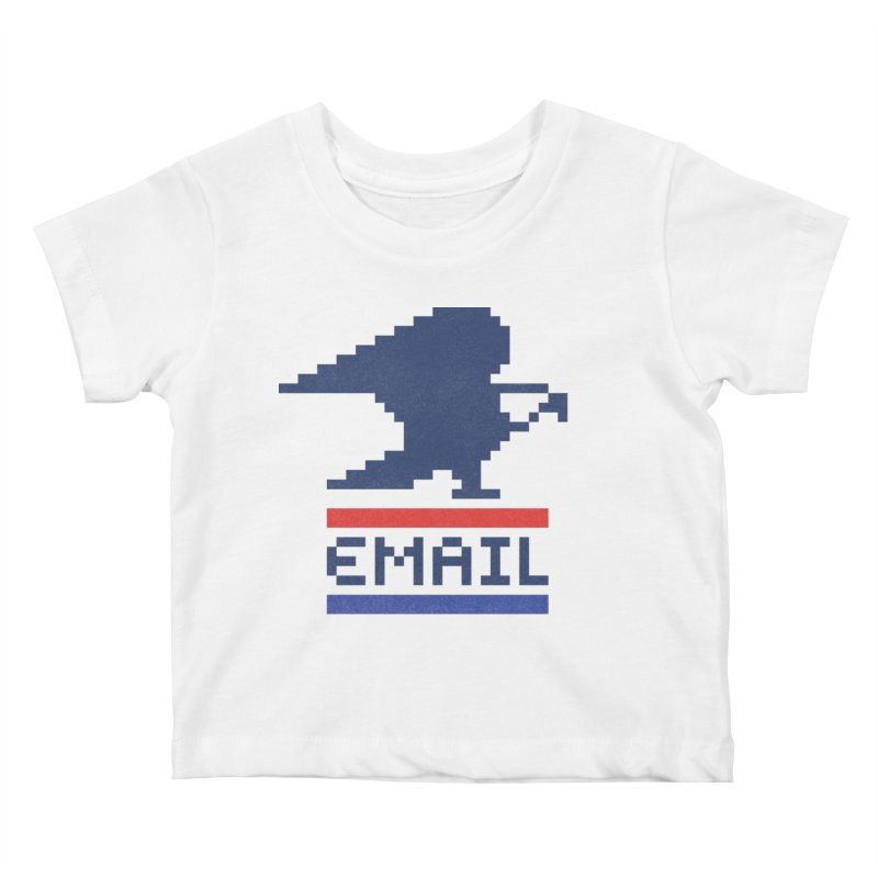 Email Kids Baby T-Shirt by csw
