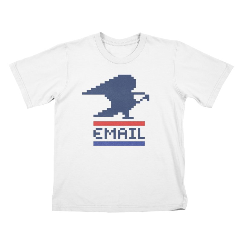 Email Kids T-Shirt by csw