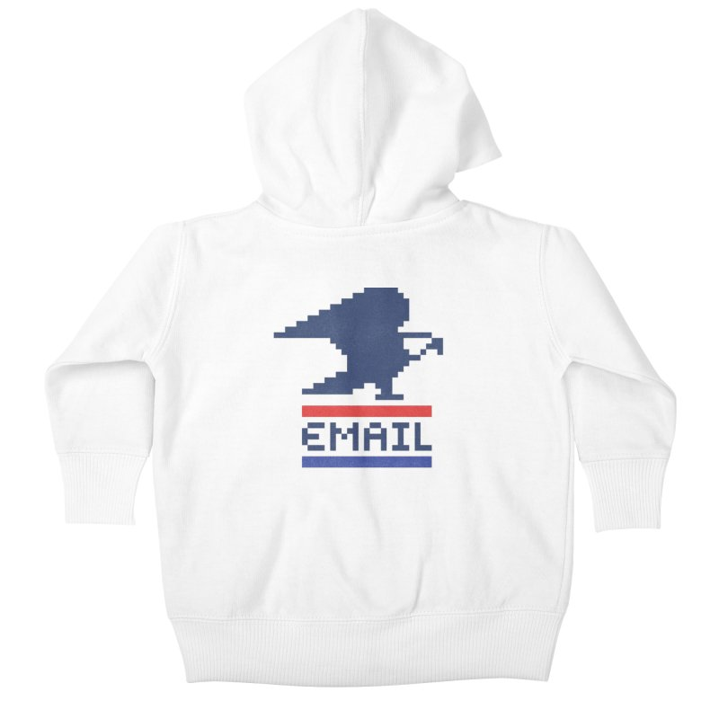 Email Kids Baby Zip-Up Hoody by csw