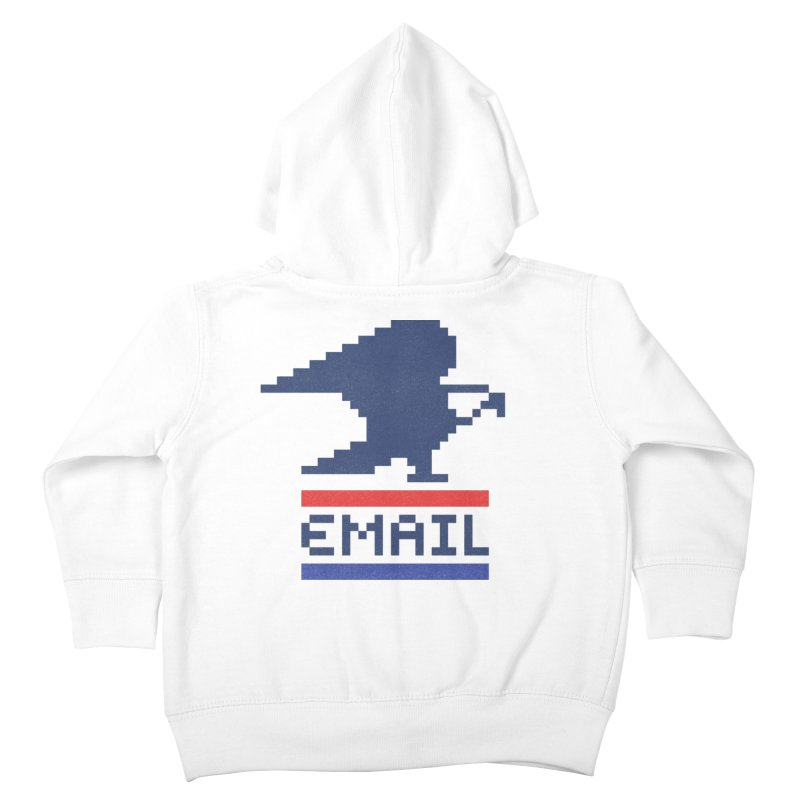 Email Kids Toddler Zip-Up Hoody by csw