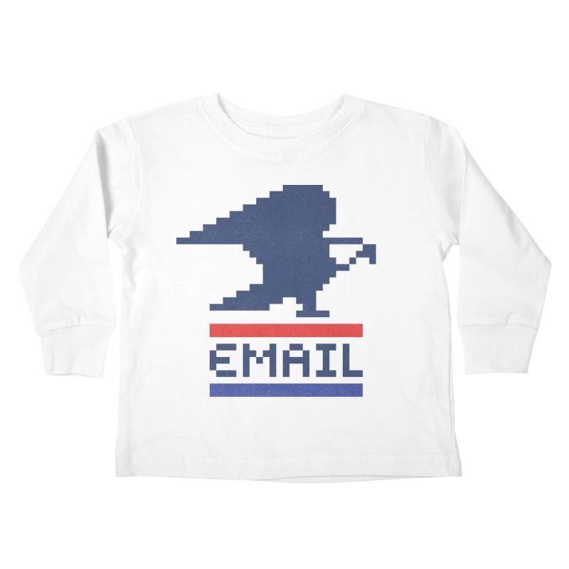 Email Kids Toddler Longsleeve T-Shirt by csw