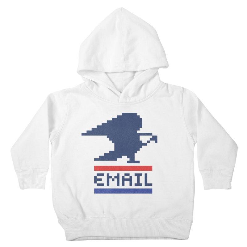 Email Kids Toddler Pullover Hoody by csw