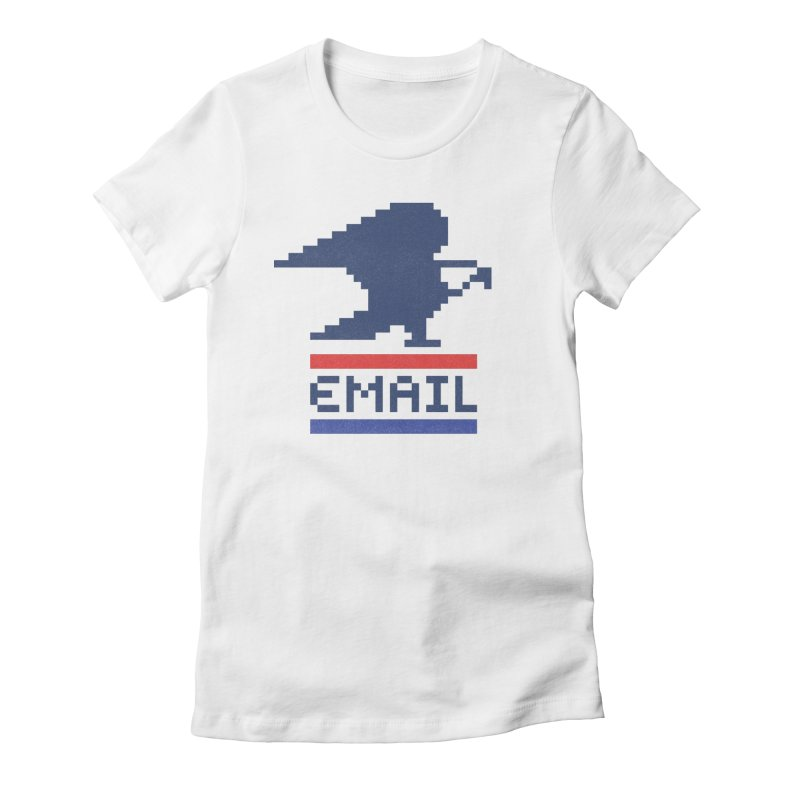 Email Women's Fitted T-Shirt by csw