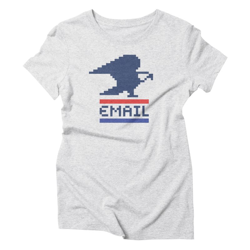 Email Women's Triblend T-Shirt by csw