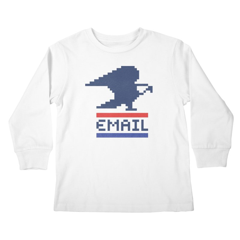 Email Kids Longsleeve T-Shirt by csw