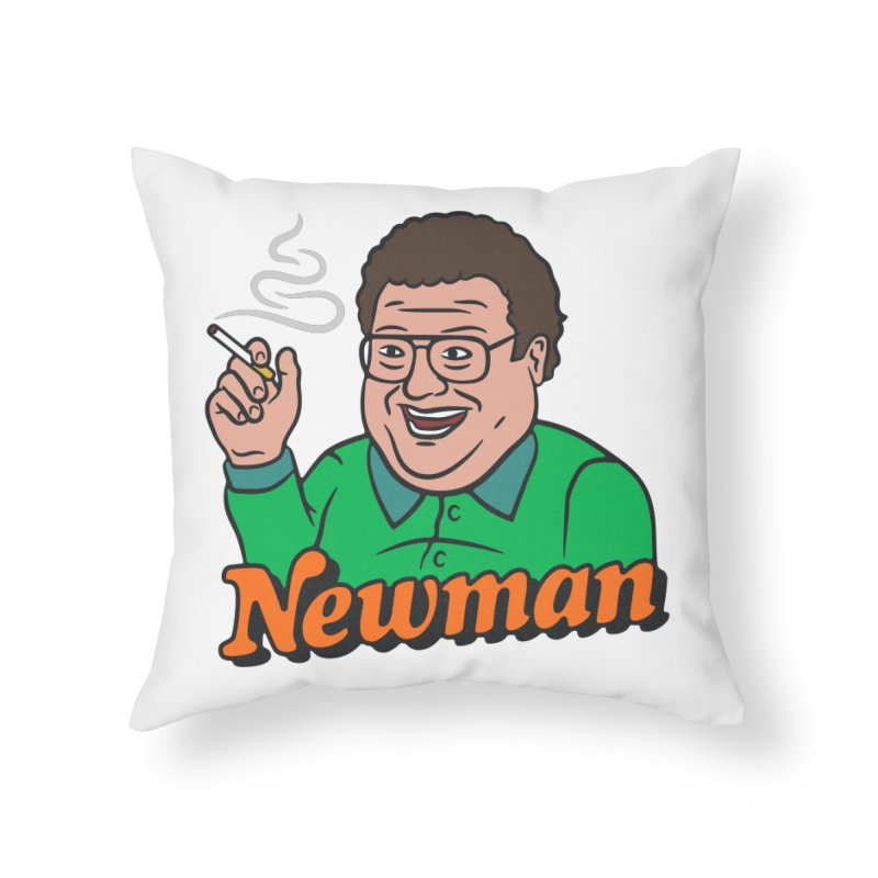 Newman Pleasure Home Throw Pillow by csw