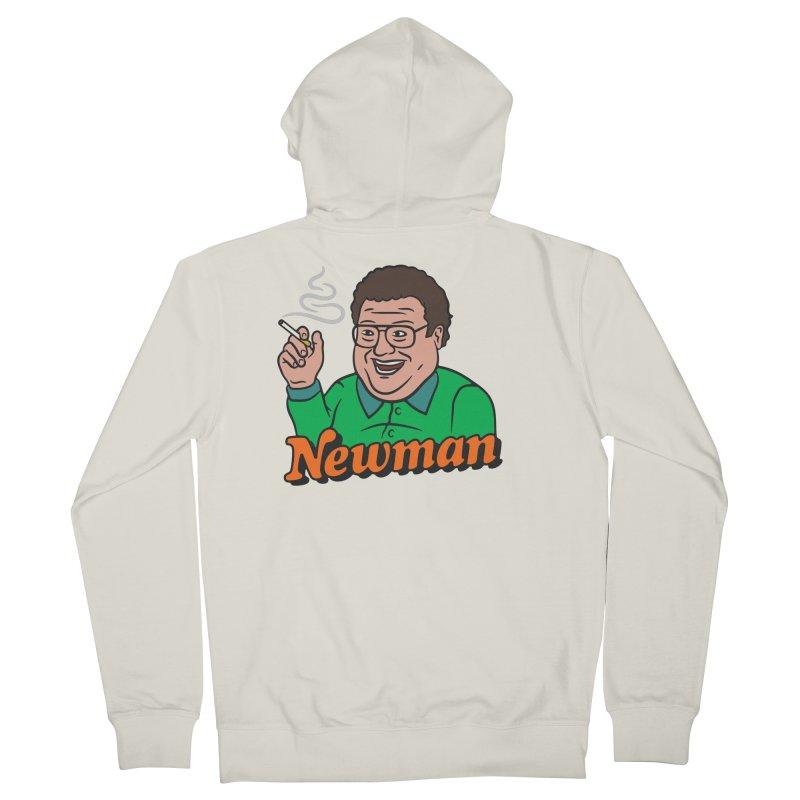 Newman Pleasure Men's Zip-Up Hoody by csw