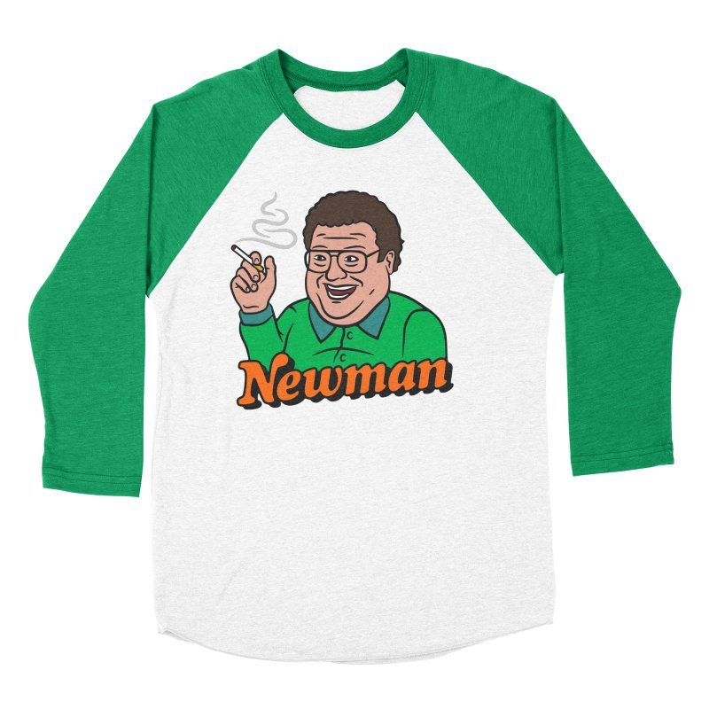 Newman Pleasure Men's Baseball Triblend T-Shirt by csw