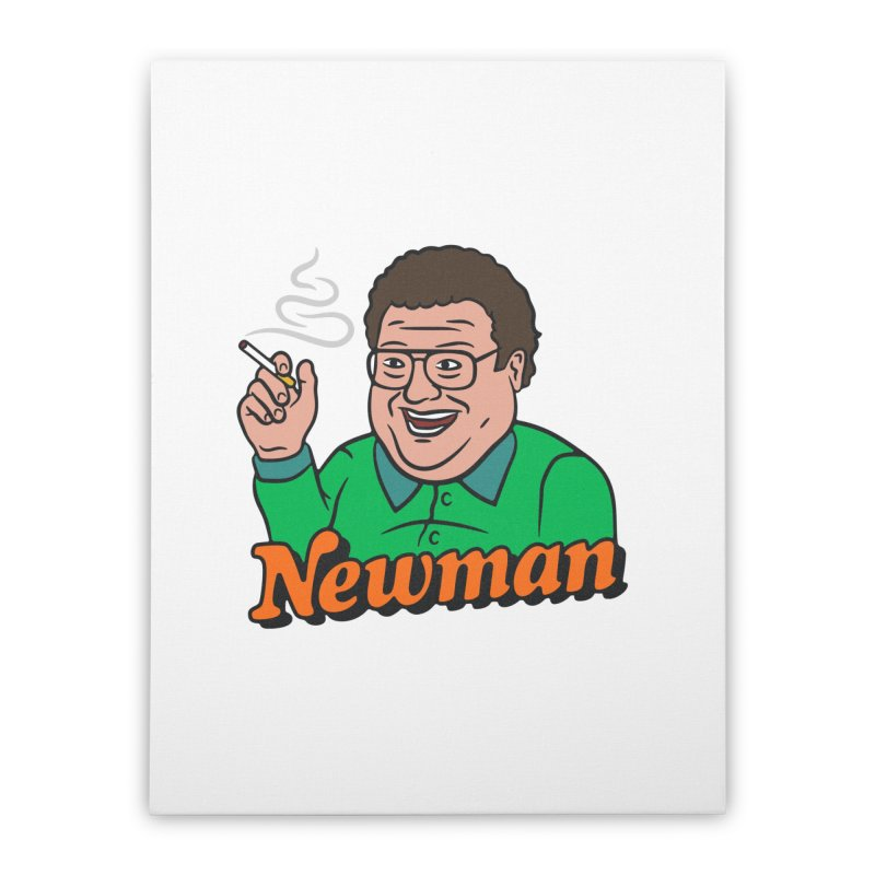 Newman Pleasure Home Stretched Canvas by csw