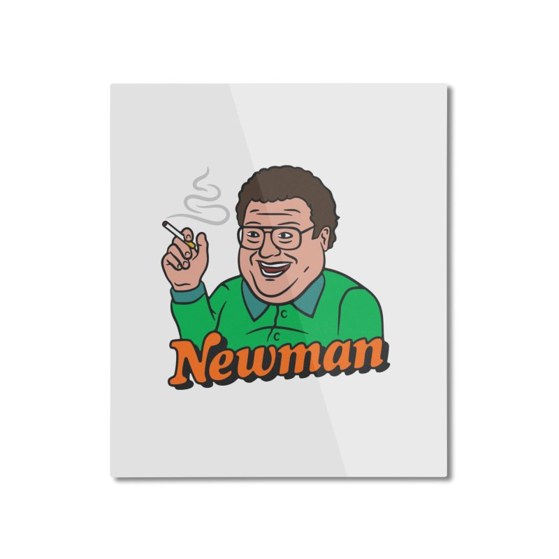 Newman Pleasure Home Mounted Aluminum Print by csw