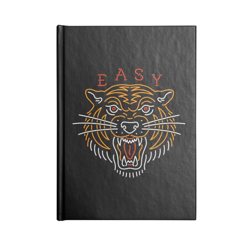 Easy, Tiger Accessories Notebook by csw