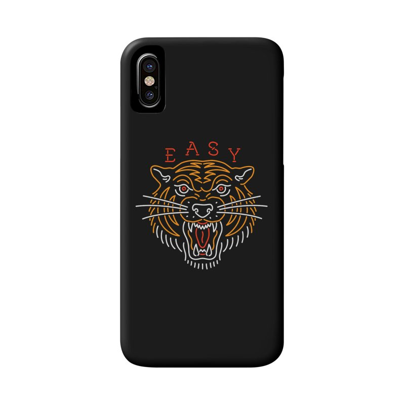 Easy, Tiger Accessories Phone Case by csw