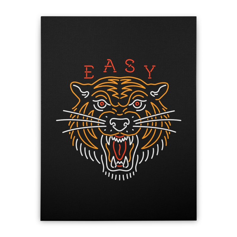 Easy, Tiger Home Stretched Canvas by csw