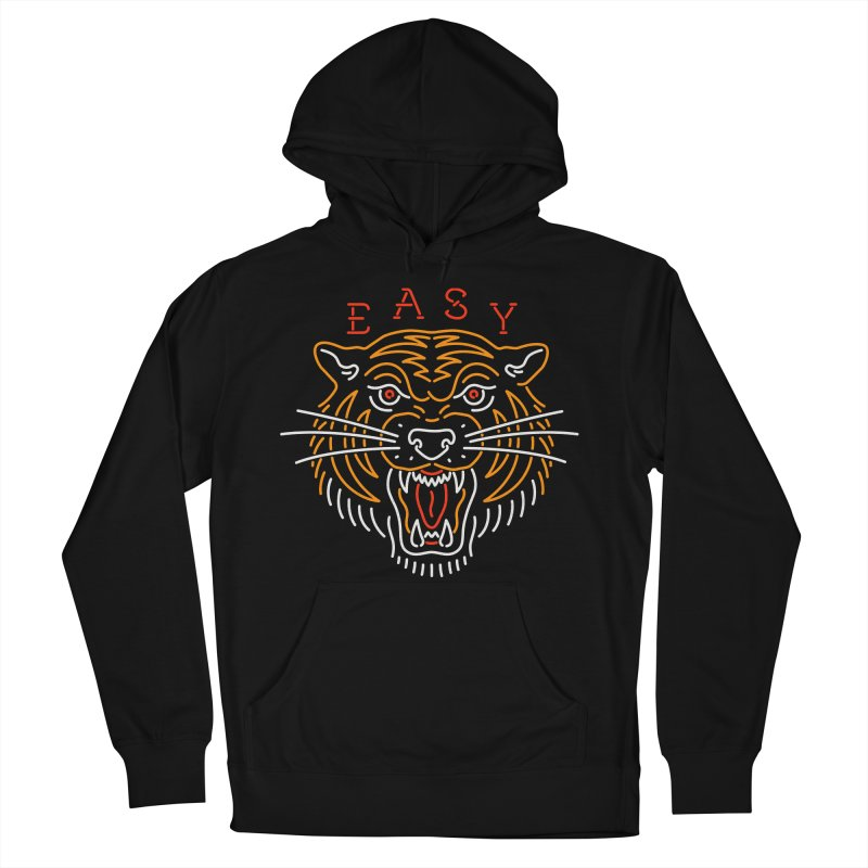 Easy, Tiger Women's French Terry Pullover Hoody by csw