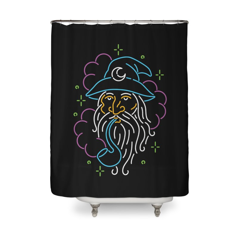 Gee Wiz Home Shower Curtain by csw