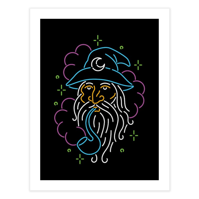 Gee Wiz Home Fine Art Print by csw