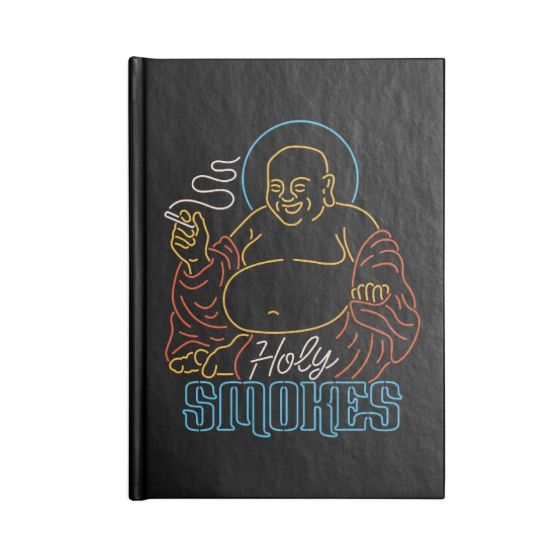 Holy Smokes II Accessories Notebook by csw