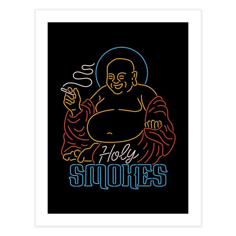 Holy Smokes II Home Fine Art Print by csw