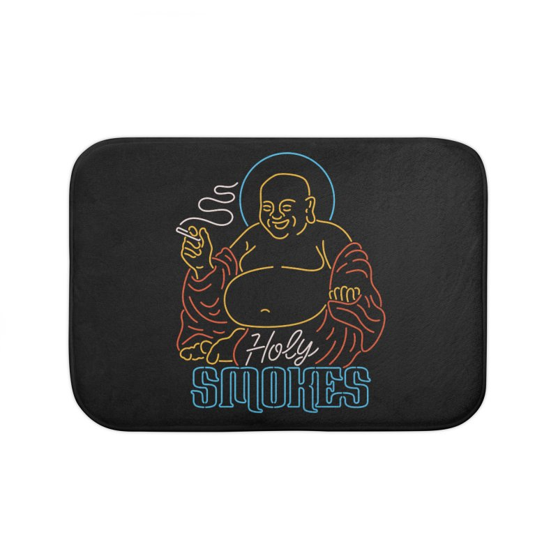 Holy Smokes II Home Bath Mat by csw