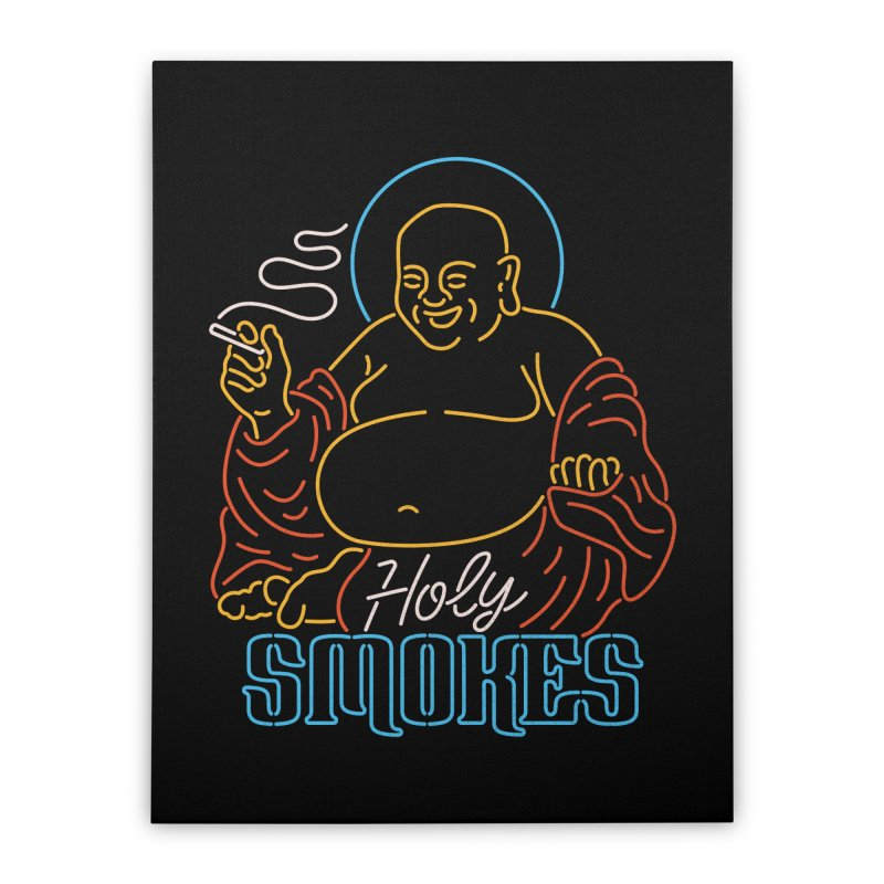 Holy Smokes II Home Stretched Canvas by csw