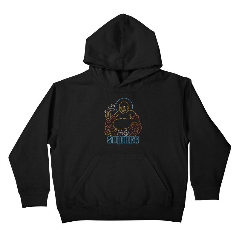 Holy Smokes II Kids Pullover Hoody by csw