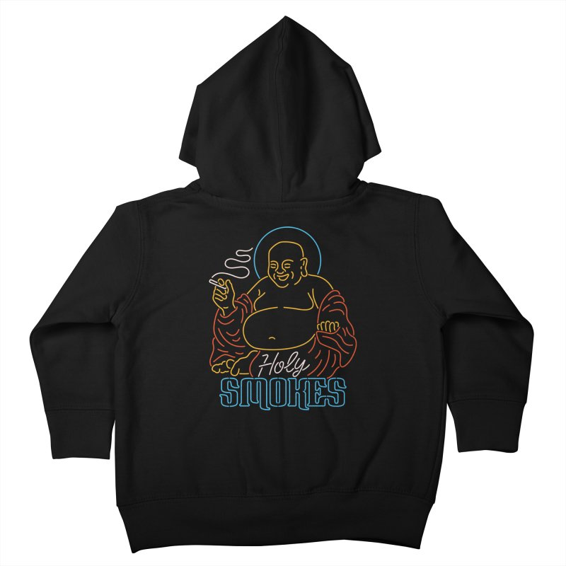 Holy Smokes II Kids Toddler Zip-Up Hoody by csw