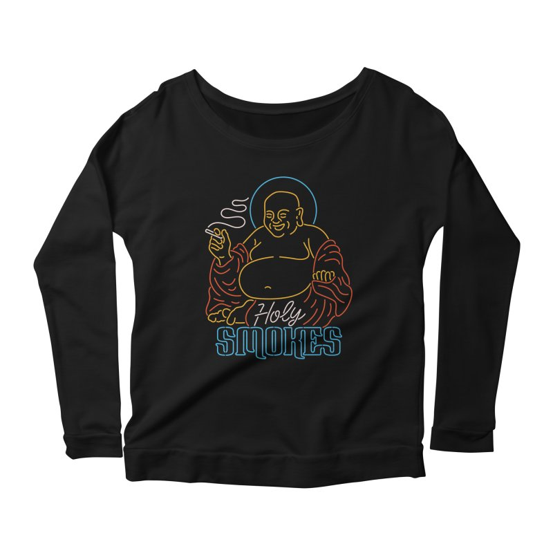 Holy Smokes II Women's Scoop Neck Longsleeve T-Shirt by csw