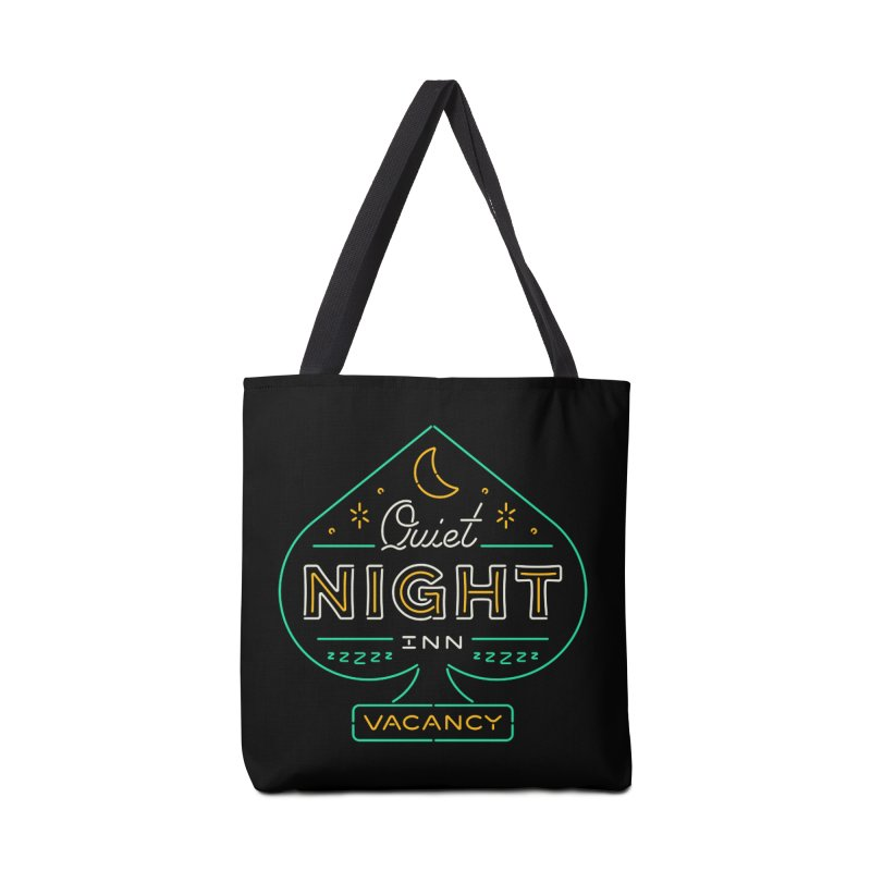 Quiet Night Inn Accessories Bag by csw