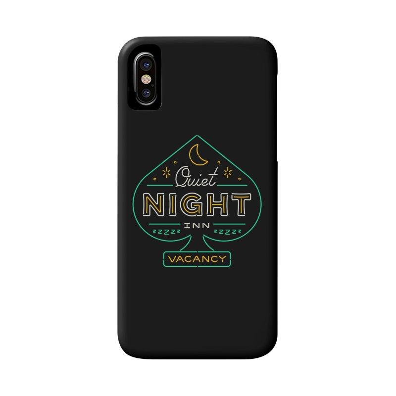 Quiet Night Inn Accessories Phone Case by csw