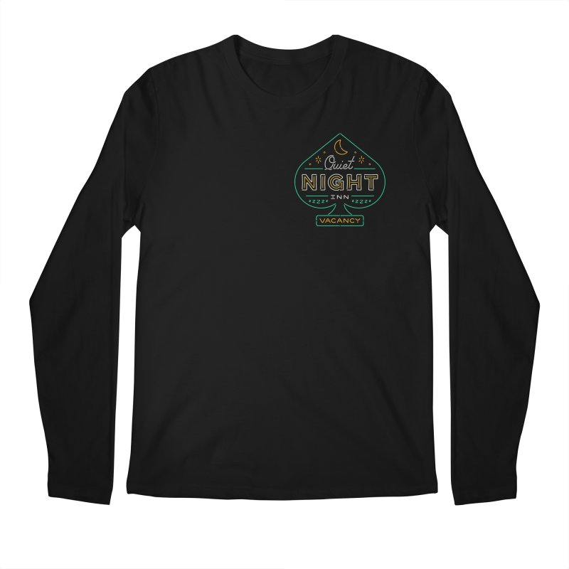 Quiet Night Inn Men's Longsleeve T-Shirt by csw