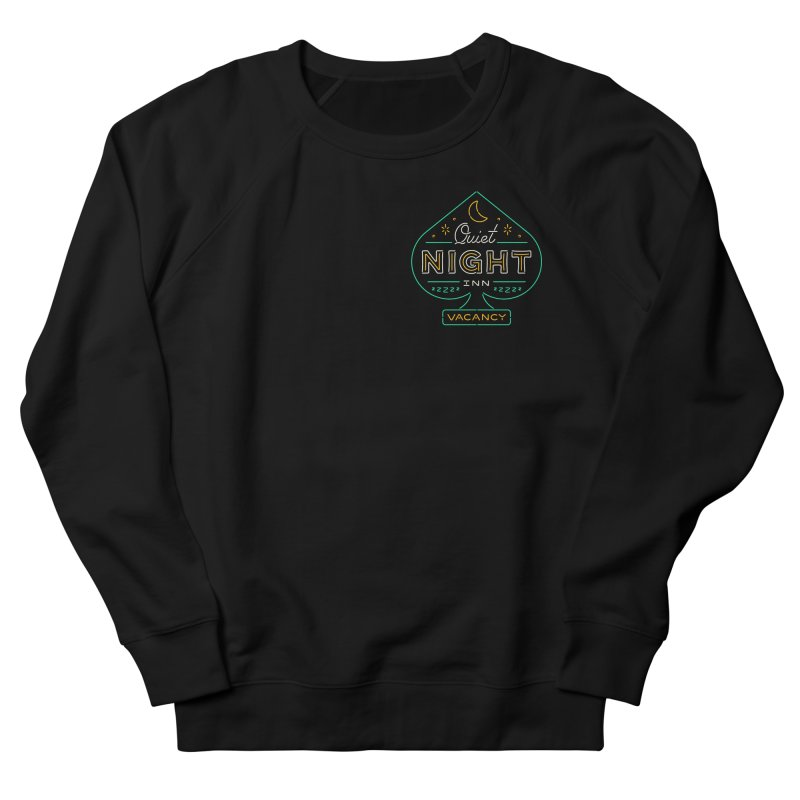 Quiet Night Inn Men's French Terry Sweatshirt by csw
