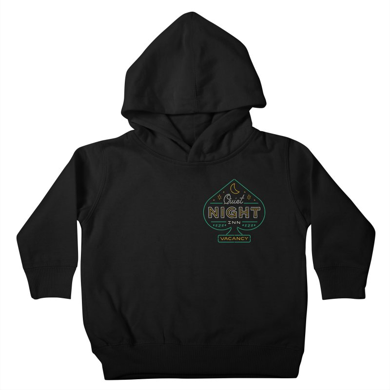 Quiet Night Inn Kids Toddler Pullover Hoody by csw