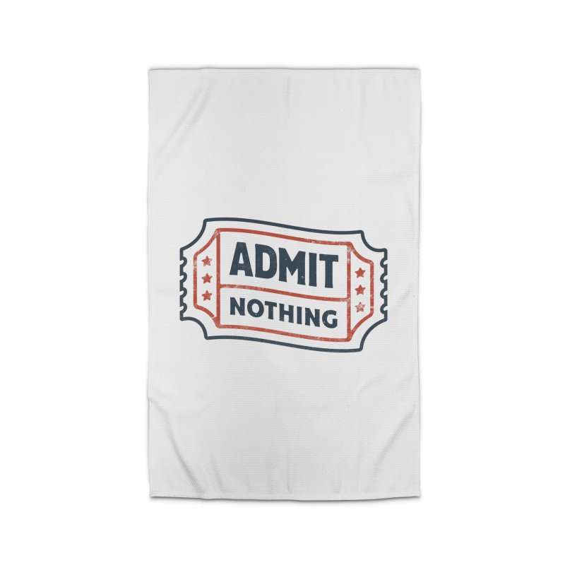 Admit Nothing Home Rug by csw