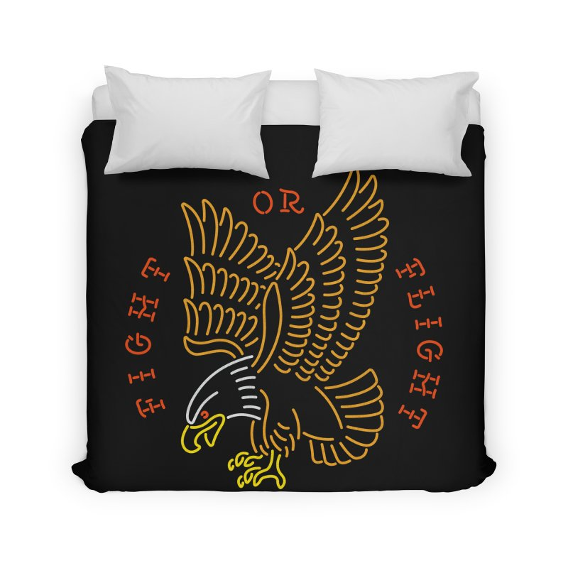 Fight or Flight Home Duvet by csw