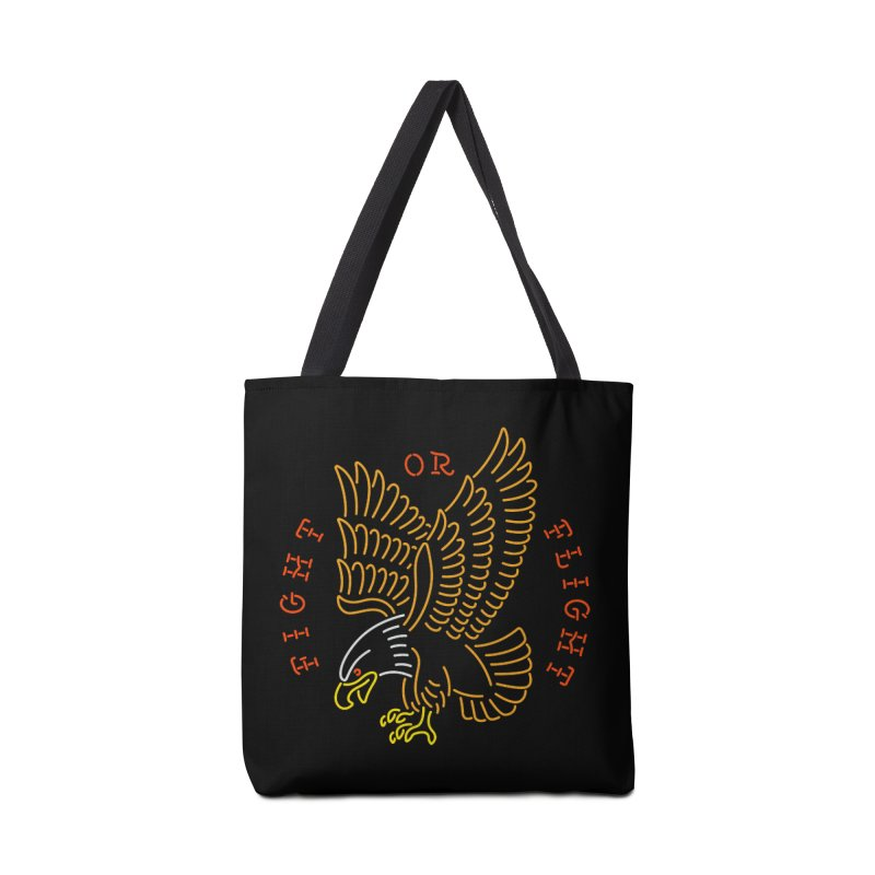 Fight or Flight Accessories Bag by csw