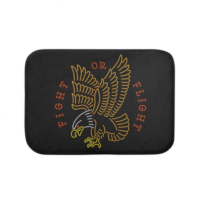 Fight or Flight Home Bath Mat by csw